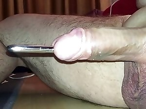 Quick 10mm sounding with cumshot