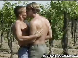 Blonde Gay Cowboys