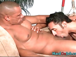 Gianni and Jay have steamy gay sex
