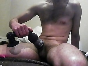 Wank using my new toy...strong orgazm
