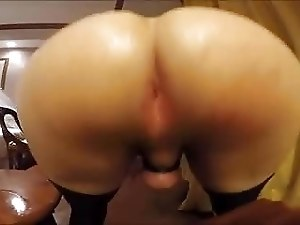 Bouncing Thick Fat Round CD Sissy Ass