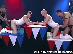 ClubInfernoDungeon EXTREME Self Fisting & Group Fist Fuck Foursome