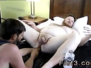 Very small young gay boys fisting xxx Sky Works Brock's Hole with his Fist