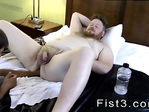 Black men fisting gay porn xxx Sky Works Brock s Hole with his Fist
